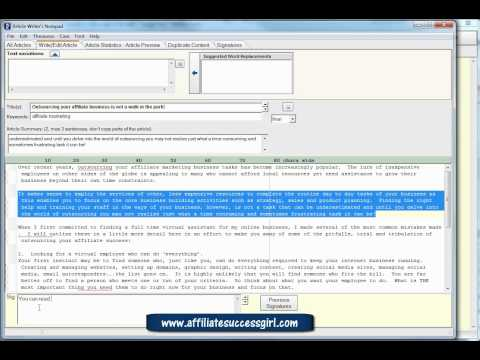 0 Article submitting software Automatic Article Submitter Pt 4