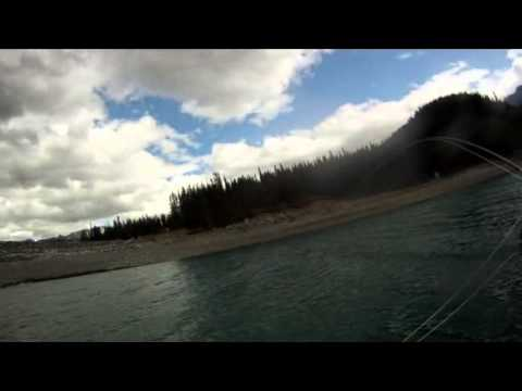 Fly Fishing Southern Alberta - Mountain Lake on the Fly