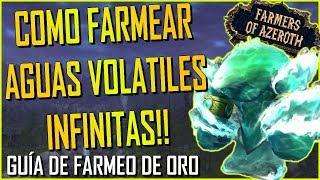 Farmeo de oro : Como farmear Aguas Volatiles, estrategia y usos | World of Warcraft