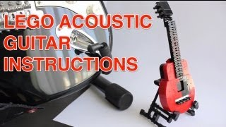 Lego Acoustic Guitar Instructions