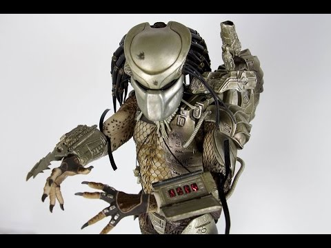 Neca:  1/4 Scale Predator - Jungle Hunter With LED Lights