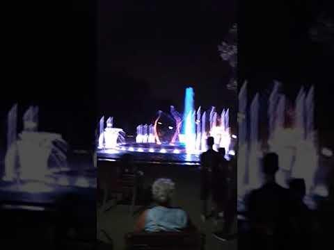 Musical fountain Budapest