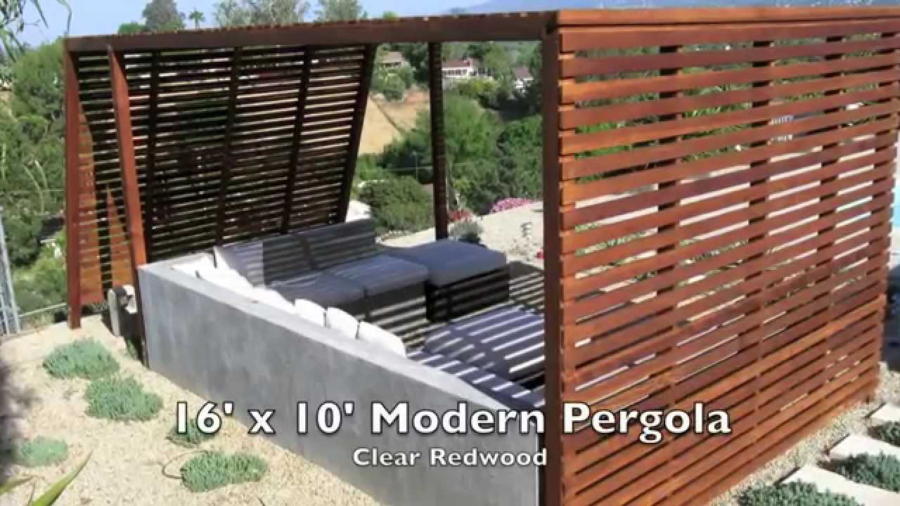 Modern fences gates and wood fence installation youtube for Modern gate designs wood and steel
