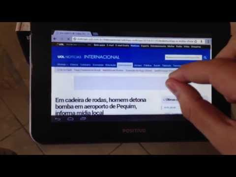 Unboxing Tablet Positivo YPY L700