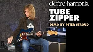 Tube Zipper - Demo by Peter Stroud - Envelope Filter/ Distortion
