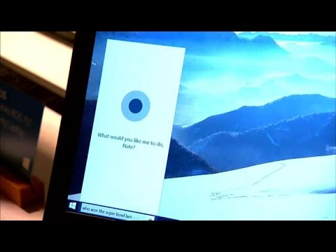 Hands-on with Cortana on a Windows 10 laptop