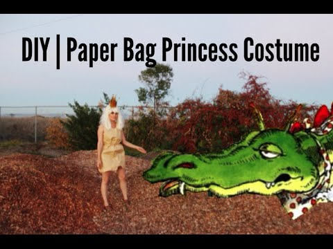 DIY | Paper Bag Princess Costume