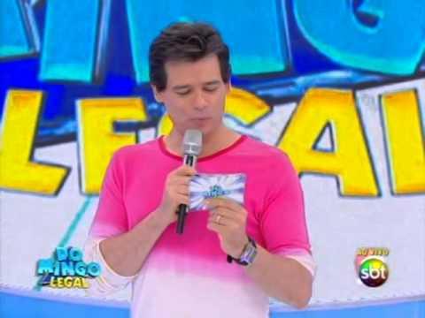 Domingo Legal (22/12/13) - Funkeiros e elenco de Chiquititas brincam - Parte 1