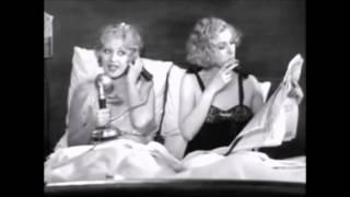 Joan Blondell Lilyan Tashman In Bed ~ Pre-Code Lesbians