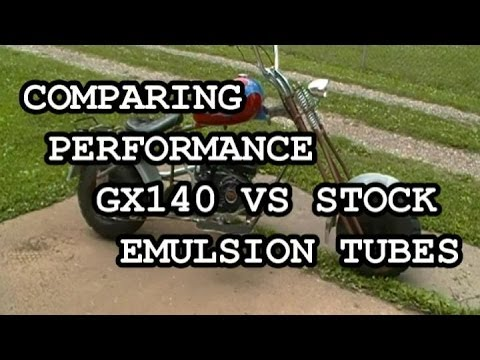 6 5 CLONE GX140 VS STOCK EMULSION TUBES