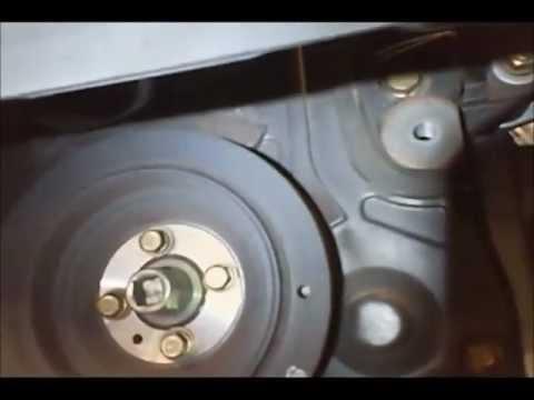 2001 Mitsubishi Eclipse Spyder >> Como remplazar la correa de distribucion de un Mitsubishi Eclipse 2.4L 2006 - YouTube