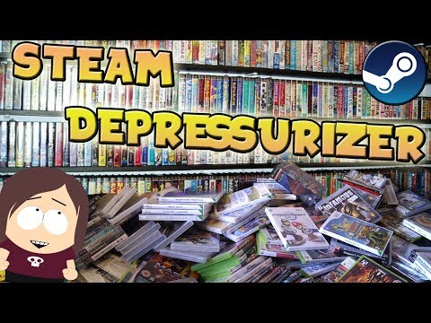 Steam Depressurizer Guide || Great Tool to Categorize Library by Review Score, Genre, and more!