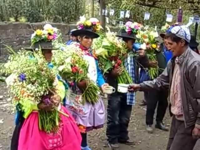 Matrimonio campesino en Chahuarma - Lircay - Angaraes - Huancavelica