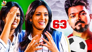 I Play Vijay's Sister in Thalapathy 63 : Devadharshini Interview | Atlee Movie | Kanchana 3