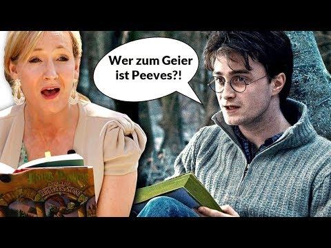 Die KRASSESTEN Harry Potter BUCH / FILM Unterschiede!