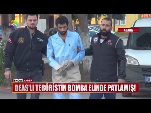 DEAŞ'lı teröristlerin bomba elinde patlamış!