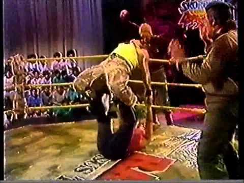 RAMBO Y SUS TITANES 1992 -T.D.JACKSON  VS. TACKLEBERRY .