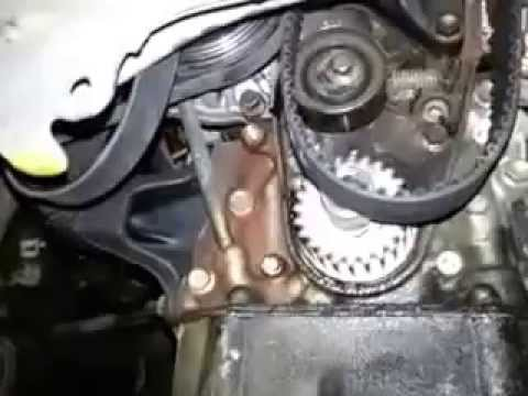 Getting The Timing belt past motor mount of Toyota Corolla 7AFE 1994 1.8