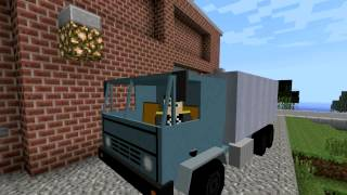 Minecraft Vincent's vehicle pack overview - flan's mod 1.4.7/1.2.5