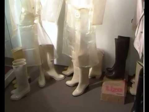 rubber boots pvc raincoat