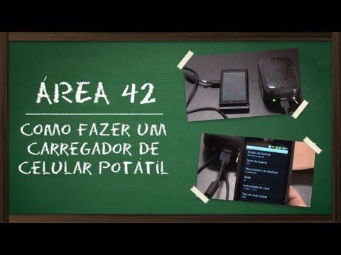 Como fazer um carregador de celular portátil [Área 42] - Tecmundo