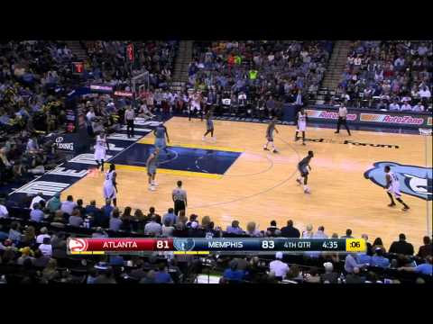 Atlanta Hawks vs Memphis Grizzlies | February 8, 2015 | NBA 2014-15 Season