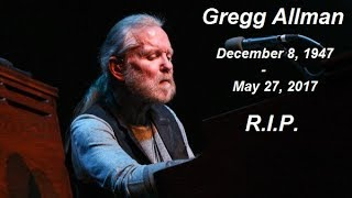 Gregg Allman Best Moments, Emotional Tribute  - (Compilation)