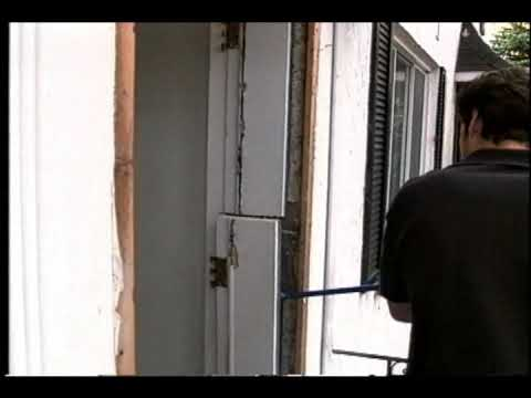 Porte d 39 entree installation youtube - Installation fenetre renovation ...