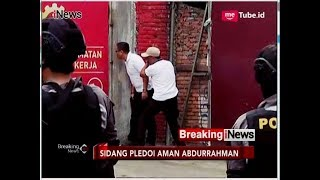 Terdengar Dentuman Keras, Sidang Pledoi Aman Abdurrahman Diskors - Breaking iNews 25/05