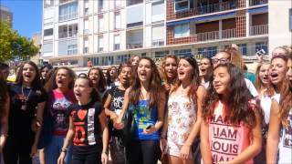 Happy birthday 1D from Toulon in the south of france ♥