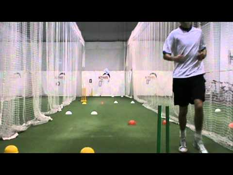 Cricket - Fast Bowlers Drill for Acceleration in Run Up.