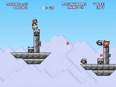 Mario Forever: Mountains Land by Hugo Faria & MarioX7