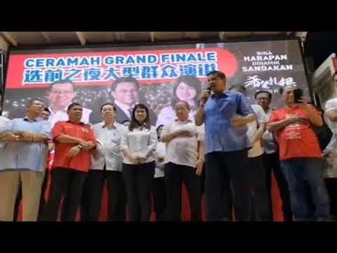 Azmin Ali: Ceramah Grand Finale PRK Sandakan