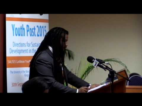 SALISES Caribbean Youth Development Conference 2015-Caribbean Youth Day Address