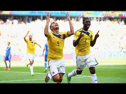 Colombia 3-0 Greece 2014