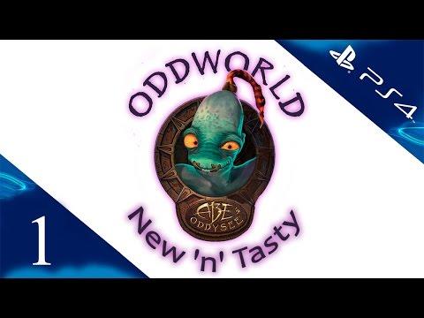 Oddworld: New 'n' Tasty - Прохождение игры на русском [#1] PS4