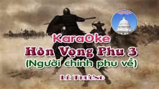 Karaoke HÒN VỌNG PHU 3 - Nhạc Lê Thương