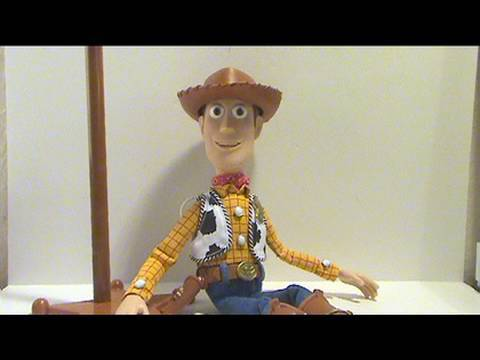 A video review of the Toy Story Collection; Woody figure
