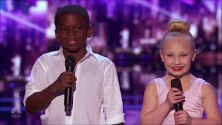 Miniture Heidi & Seal Fall in LOVE Plan their Wedding on America's Got Talent 2017