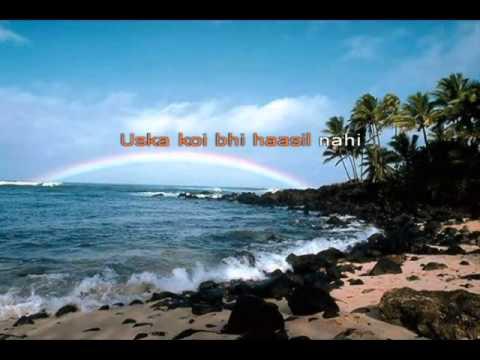 Zindagi Ki Talaash Karaoke by Aditya Tambe (Addy)