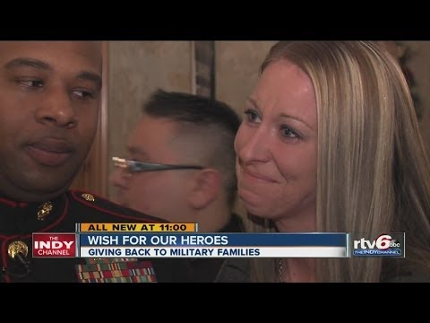 'Wish for Our Heroes' draws Pacer George Hill, crowds