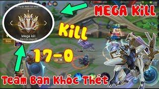 Liên Quân   Tel'annas Kill 17 - 0 Ăn Mega Kill Liên Tục Làm Team Bạn Nhức Óc