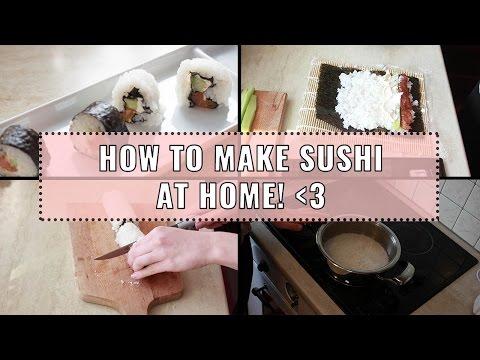 Рецепта за домашно СУШИ | Savisfaction Makeup ♡