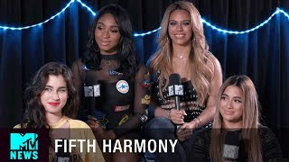 Fifth Harmony Talks Down ft Gucci Mane Possibly Changing Their Name MTV News