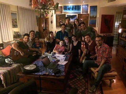 Twitcam del elenco de Sintonia Pop 16-05-15