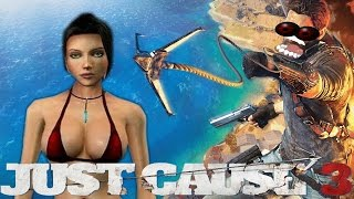 JUST CAUSE 3 FAILS #1 (JC3 FUNNY MOMENT GAMEPLAY)