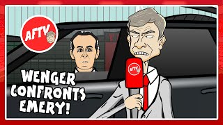 😠Wenger CONFRONTS Emery!😠