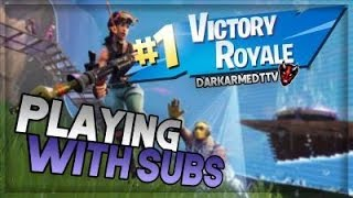 🔴Fortnite Live |Playing with subs Live|Family Friendly Streamer