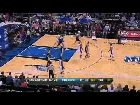 NBA San Antonio Spurs vs Orlando Magic Game Recap (1/18/12)