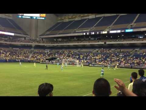 Club America Goal Vs Santos San Antonio Texas 07-09-16